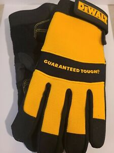 DeWalt DPG20XL All Purpose Synthetic Leather Gloves, Large