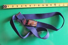 World Industries Skateboards Navy Blue Flame Boy 90's Vintage Skateboarding Belt