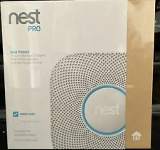 Nest PRO Nest Protect Smoke & Carbon Monoxide Alarm S3005PWLUS White NEW