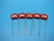 10 Pieces of Meritek Axial 1000UF 16V 85C Capacitors 10X21mm NOS