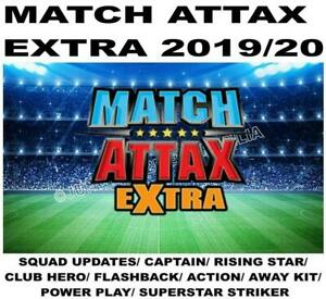 MATCH ATTAX EXTRA 2019/20 19/20 SQUAD UPDATE/ CAPTAIN/ RISING STAR/ CLUB HERO