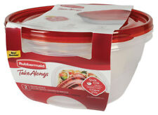 Rubbermaid Takealongs 15.7 Tazas Conservación Alimentos Contenedor 4PC