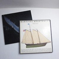 Nautical Quarterly Issue #1 1977 PREMIER ISSUE 1st Edition Gribbons Slipcase