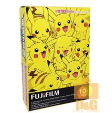 FUJIFILM FUJI INSTAX MINI Instant FILM 1 PACK / Pikachu / Pokemon 4 8 90 25 90