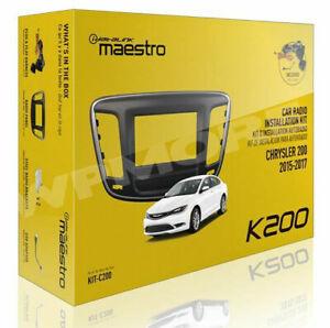 iDatalink Maestro Dash KIT & T-Harness KIT-C200 for Chrysler 200 2015 to 2018