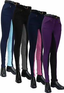 Gallop Equestrian Ladies Two-Tone Comfort Jods. practical, stylish, great value.