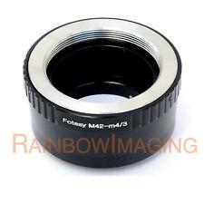 M42 Lens to Micro 4/3 m43 Adapter Olympus E-M5 II E-M10 II E-PM2 E-PM1 PEN-F