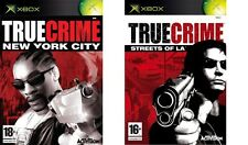 True CRIME NEW YORK CITY & strade di la formato PAL XBOX SOLO