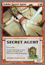 4x Goblin Secret Agent MTG MAGIC Unh Unhinged English