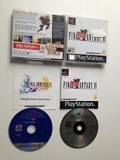 Final Fantasy VI / 6  (UK PAL, CIB) - Sony PlayStation 1 / PS1 / PSX