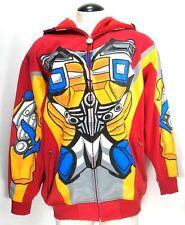 Transformers - Hoodie Sweatshirt - Mesh Eye Mask Full Zip - Bumblebee - Men's XL