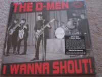 El d-men - I quiero gritar - Garaje ROCK - NUEVO VINILO LP Record