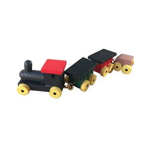 Dollhouse Playroom Toy Cute Little Train Miniature Model Accessories