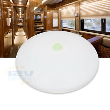 "4.5"" 12V LED Ceiling Light RV Camper Under Cabinet Dome Lamp Warm W with switch"