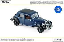 Citroën 7A 1934 Blue & Black NOREV - NO 153028 - Echelle 1/87 NEWS JUILLET 2018