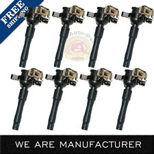 UF354 Set of 8 Ignition Coil For BMW E46 E39 X5 Z8 E36 325 330 328 525i 540i M3