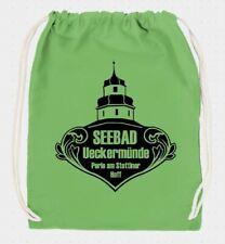 Turnbeutel Sportbeutel Ueckermünde Rucksack 100% BW Gym Bag Schuhbeutel UER