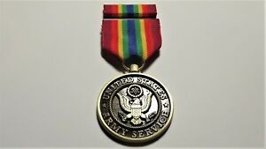 Army Service Medal and Ribbon