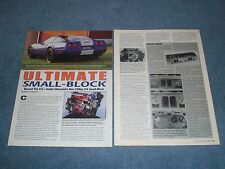 "1995 Chevy Corvette LT4 330hp Engine Info Article ""Ultimate Small-Block"""