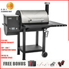 ASMOKE 8 In 1 Wood Pellet Smoker Grill Patio Grilling Barbecue with Meat Probe