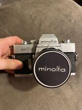 Vintage Minolta Srt 101 35mm Slr Film Camera - Works