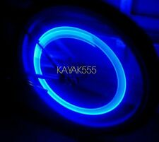 2 X BIKE BICYCLE RACING CYCLING VALVE STEM RIM LIGHTS NEON LED GLOW FOR SAFETY!!