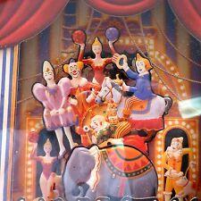 Koji Murai Music Shadow Box 3D Circus Clown Museum Top of the World NIB 63-303