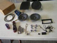 NOS Motorola 1974 1975 1976 Ford LTD Galaxie Radio Installation Speaker Kit