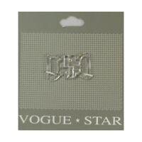 Vogue Sujetador Cierre De Cadena De Estrellas capa 130mm Disfraz de cadena de cabo Decorativo