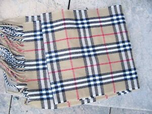 Lovely Brown Check Mens Or Ladies Long Scarf