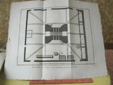 VIntage Print,VERRERIE,Diderot Occupations,Machinery,c1770-80
