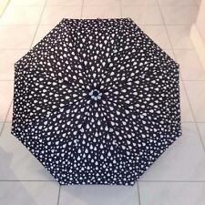 Umbrella RAINDROPS BLACK AND WHITE: BNWT