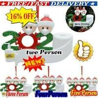2020 Xmas Christmas Hanging Ornaments Family Personalized Ornament   Gift