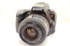 Sony A33 DSLR, digital camera, cámara, appareil photo