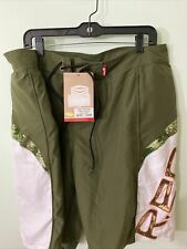 RED Impact Shorts  Protective Shorts Mens XL Green Camo extractable padding
