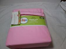 New Circo BASIC COLLECTION Full Sheet Set ~ Pink ~ Brushed For Softness NIP