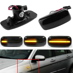 Sequential LED Side Marker Light For Jeep Patriot Compass Liberty Grand Cherokee