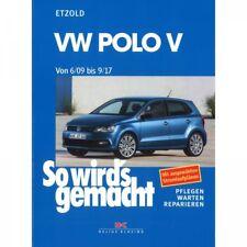 VW Polo V 5 Typ 6C/6R (06.2009-09.2017) So wird's gemacht Reparaturanleitung