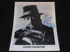 Feels So Good Chuck Mangione Signed Vintage 8x10 Autograph Photo JB5