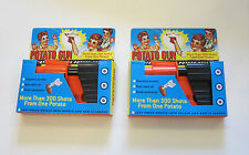 2 NEW POTATO GUNS CLASSIC KIDS TOY PISTOL POTATOE SPUD LAUNCHER GUN GAG GIFT