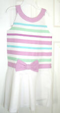 Gymboree Pleated Skirt Ribbon Dress NWT The Spring Dressy Collection Size 7