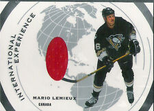 Mario Lemieux - 2002 03 - In the Game Used - International Experiance - Jersey
