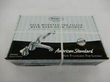 American Standard Deck Mounted Tub Filler with Hand Held Shower 2981 Chrome