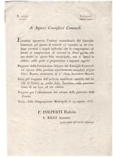 L11) ITALIA Regno Lotto di 10 documenti del 1700/1800 (10 scans)