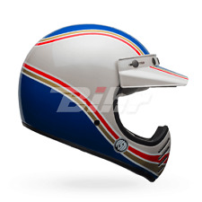 BELL Offroad Helm MOTO-3 RSD MALIBU (57/58) M BLAU WEISS