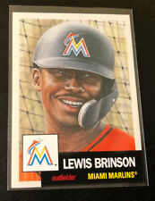 2018 Topps Now Living LEWIS BRINSON Marlins #33 (From Set #11 Break)