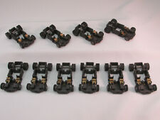 TYCO TCR BARE ROLLING CHASSIS W/CUT FRAME ~ AXLES, WHEELS & TIRES ~ 10 CHASSIS