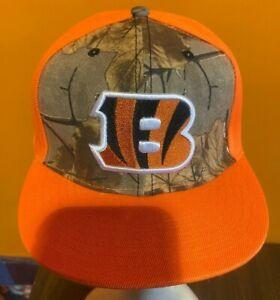 New Era Cincinnati Bengals Camo Snapback Hat One Size Fits All