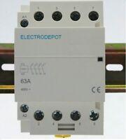 32A Motor Contactor 40A 6 Pole 2x3 w DIN Rail 50A Lighting 30a 110v 120V Coil