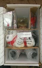 "NRFB Danbury ""Courtney"" Coca-Cola "" Doll & Polar Bear Susan Wakeen RARE"